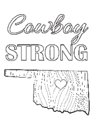 Cowboy Strong Coloring Page