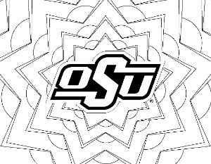 OSU Burst Coloring Page