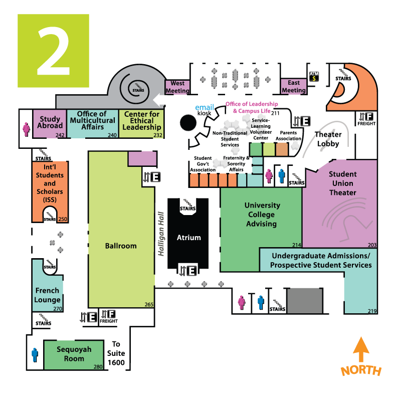 Maps/Floor Plans | Student union | Oklahoma State University