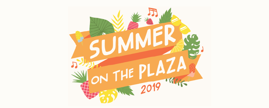 Summer on the Plaza banner